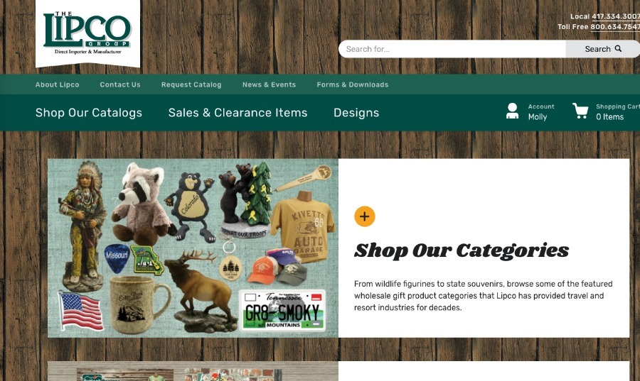PRESS RELEASE: Leading Supplier of Wholesale Gifts and Souvenirs Launches Industry-Leading Ecommerce Site