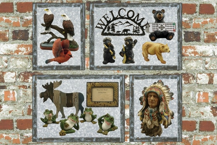 Wholesale gift items, wildlife figurines, rustic cabin décor and wholesale dream catchers are in the Lipman Gifts catalog.